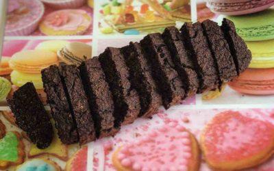 Chocolade bananencake