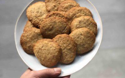 Homemade Digestieve koekjes